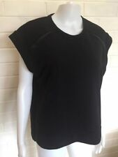 Polycotton Machine Washable Solid T-Shirts for Women