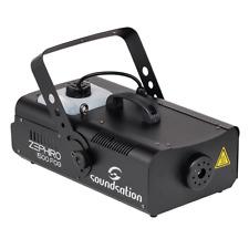 Soundsation Zephiro 1500 Fog Machine Smoke Machine 1500W DMX DJ Disco