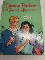 1960 edition Donna Parker A Spring To Remember by Marcia Martin Children's Book