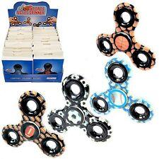 Spinner Hand Fidget Toy Football, Basketball, Soccer Baseball Toy (PACK OF 24X)