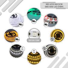 SMD 5050 LED Strip Warm White, Cool White, RGB, RGB+White, DC 12-24V, 60-72W