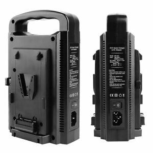 BP-2CH V-Lock V-Mount Batterieladegerät Dual Slot Dual Channel Schnellladung
