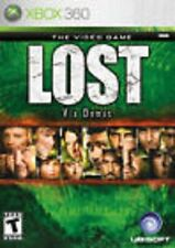Lost: Via Domus GAME (Xbox 360) **FREE SHIPPING!!