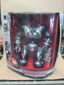 Robosapien, WowWee, silver and black, No. 8083, boxed