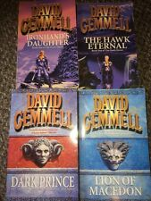 DAVID GEMMELL- 4 Books Hawk Queen series And Stones Of Power Series