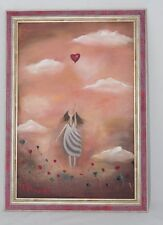 Girls with a heart by Valentina Osmolovich painting