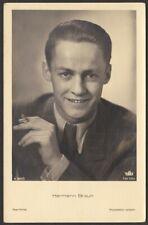 7779 AK Portrait Hermann Braun Schauspieler Ross Verlag A 3101/1