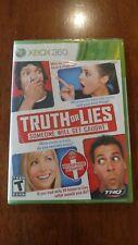 Truth or Lies (Microsoft Xbox 360, 2010) BRAND NEW! MAIL IT TOMORROW!