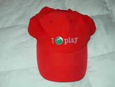 Sony Ericsson Open I Tennis Play One Size Sport Orange White Hat Baseball Cap