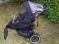 PHIL AND TEDS SPORT V1/V2 BUGGY SINGLE RAINCOVER=