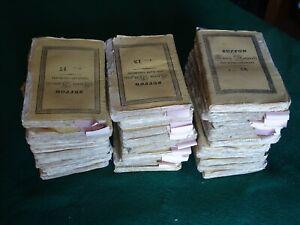 Storia Naturale Buffon 1832 - Lotto 33 volumi - Tipografia Vignozzi