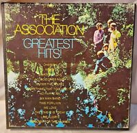 Reel-to-Reel Tape - THE ASSOCIATION - GREATEST HITS - Tested 7 1/2 ips 4 Track