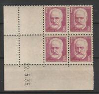 FRANCOBOLLI - 1935 FRANCIA FR. 1,25 HUGO MNH/MLH E/2287