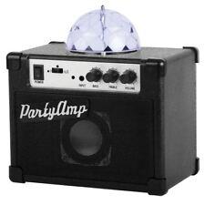 Party Amp Speaker LED Disco Ball Light Smartphone Speaker