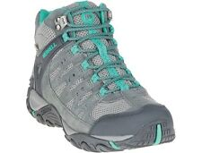 Womens Merrell Accentor Vent Waterproof Hiking Shoes Grey/Green Size 9.5; NEW