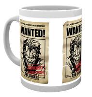 Batman Comic Joker Wanted DC Comics Superheroes Cup Tea Coffee Mug Mugs