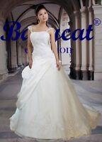 Brautkleid Hochzeitskleid Kleid für Braut weiß oder creme 34-48 oder Maße BH2002