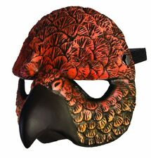 Hawk Half Mask Mystical Animal Costume Accessory