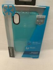 Speck Candyshell Miltary Grade Protect IPhone X, Xs, Case Teal/Blue