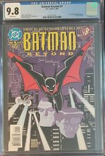 CGC 9.8 WHITE PAGES BATMAN BEYOND # 1 3/99 DC 1ST TERRY MCGINNIS