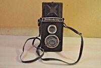 Komsomolets GOMZ Soviet Russian 6x6cm medium format camera