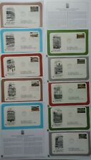 Postal Commemorative Society FIRST DAY COVERS Baseball Legendary Stadiums Stamps
