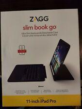 Zagg SlimBook Go Ultra Slim Keyboard & Case For 11 Inch iPad Pro Slim Book
