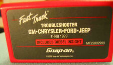 Snap On MT2500 Scanner 1999 US Domestic Troubleshooter Cartridge MT25002999