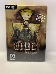 Stalker CLEAR SKY Limited Special Collector's Edition, Tin Cover, PC DVD ROM