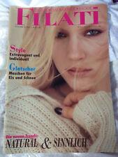 FILATI Wolle Handstrick Mode Strickheft v. Lana Grossa Nr. 26 großes Heft