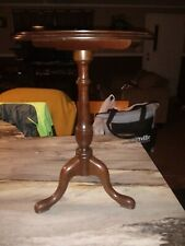 Ethan Allen Pedestal Wine Stand Side Table 11-8008 Georgian Court Collection