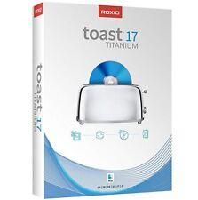 Roxio Toast Titanium 17 Complete DVD Burner Digital Media Suite  Mac OS - 3 PC's