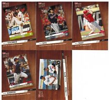 2020 Topps Series 2 Topps Now 5 Card Lot Mike Trout