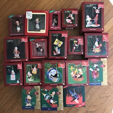Complete Set of 18 Opus & Bill Christmas Ornaments Berkeley Breathed 1993-2006