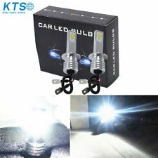H3 Led Fog Lights Bulbs Conversion Kit Super Bright Canbus 6000K White 35W