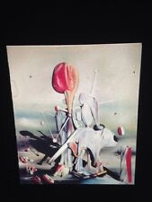 """Yves Tanguy """"Through Birds, Fire"""" 35mm French Surrealism Art Slide"""