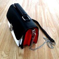 Women Ladies Small Grab Shoulder Bag Handbag Lock Mini Satchel