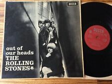 ROLLING STONES - Out Of Our Heads - Orig UK '65  Rare LK 4733 Mono 9A/9B LP EX