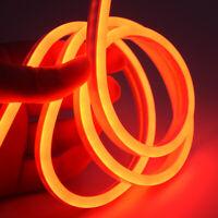 Tira De Led Flexible 12v Lámpara De Tubo De Silicona Con Luz De Neón Brillante
