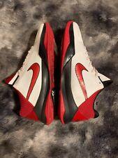Nike Zoom Kobe 5 V Black Valentines White Varsity Red Black 386429-161 Size 11
