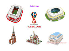 2018 FIFA World Cup RUSSIA 3D Puzzle Stadium & Architecture Host Cities MOSCOW