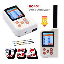 Portable 11parameter Urine Analyzer BC401 USB +Bluetooth +Test Strips 2.4' USA