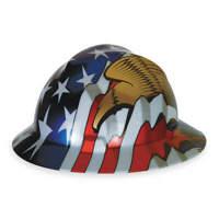 MSA 10071159 Hard Hat,Type 1, Class E,Pinlock