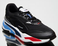 Puma BMW RS-Fast Motorsport Men's Black Marina Lifestyle Sneakers Casual Shoes