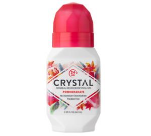 Crystal Mineral Roll On Deodorant - Pomegranate 66ml