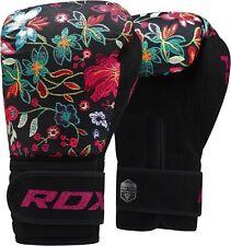 Rdx Training Boxing Gloves Ladies Mma Hook & Loop Strap Fight Mauy Thai