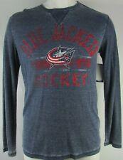 Columbus Blue Jackets Men's G-III L Long Sleeve Thermal Shirt Navy Blue NHL