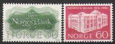 Norwegen Nr.543/44 ** 150 Jahre Bank von Norwegen 1966, postfrisch