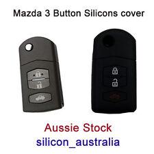 Mazda 3 button Mazda 3 2 6 MPS SP25 CX5 CX7 CX9 silicone car key cover protector