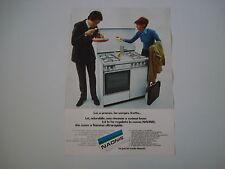 advertising Pubblicità 1972 CUCINA NAONIS